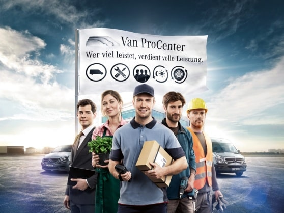 Van ProCenter de Mercedes-Benz