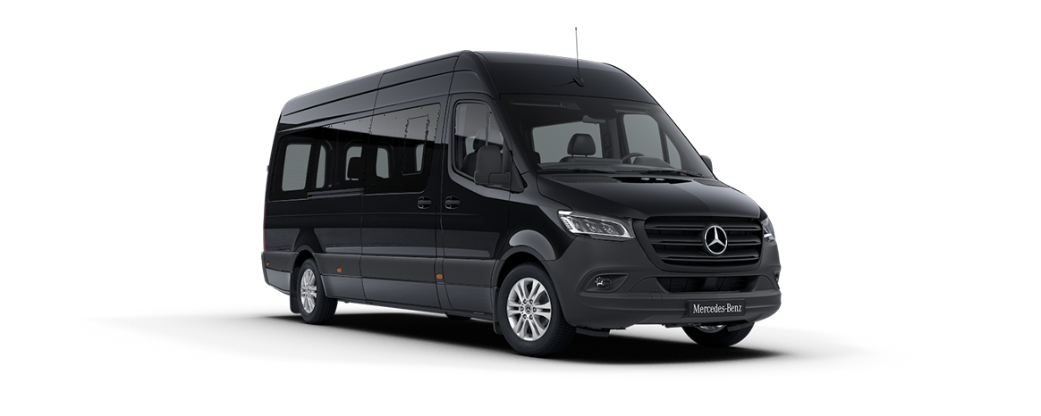 Sprinter Tourer, negro obsidiana metalizado